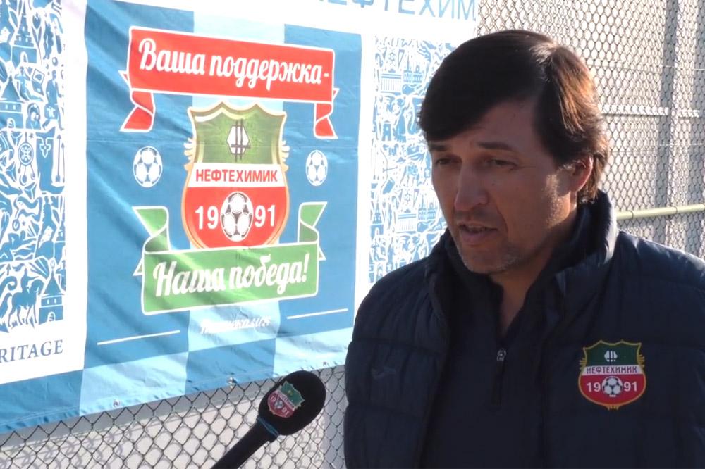 Юрий Уткульбаев: «Доволен отношением ребят к игре»