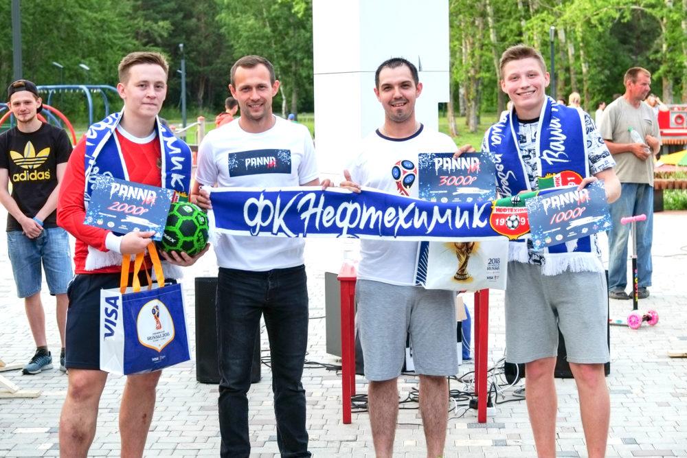 ФК «Нефтехимик» выступил партнеромтурнира по уличному футболу