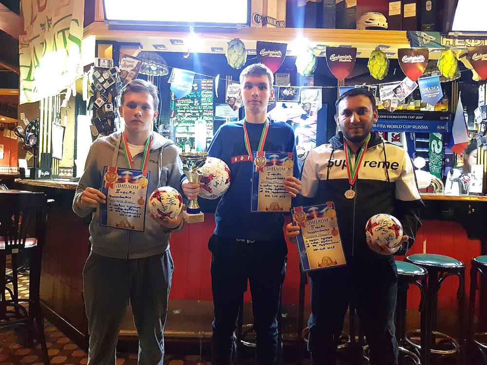 16-летний киберспортсмен стал победителем турнира по FIFA 18