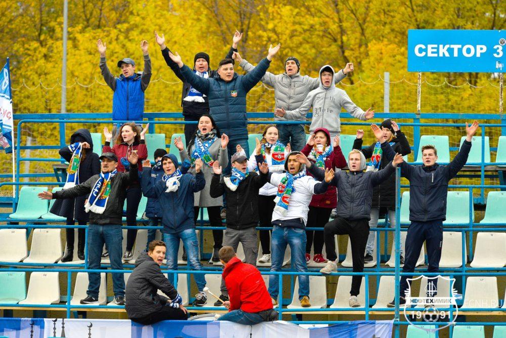 Фоторепортаж c матча «Нефтехимик» — «Уфа-2»