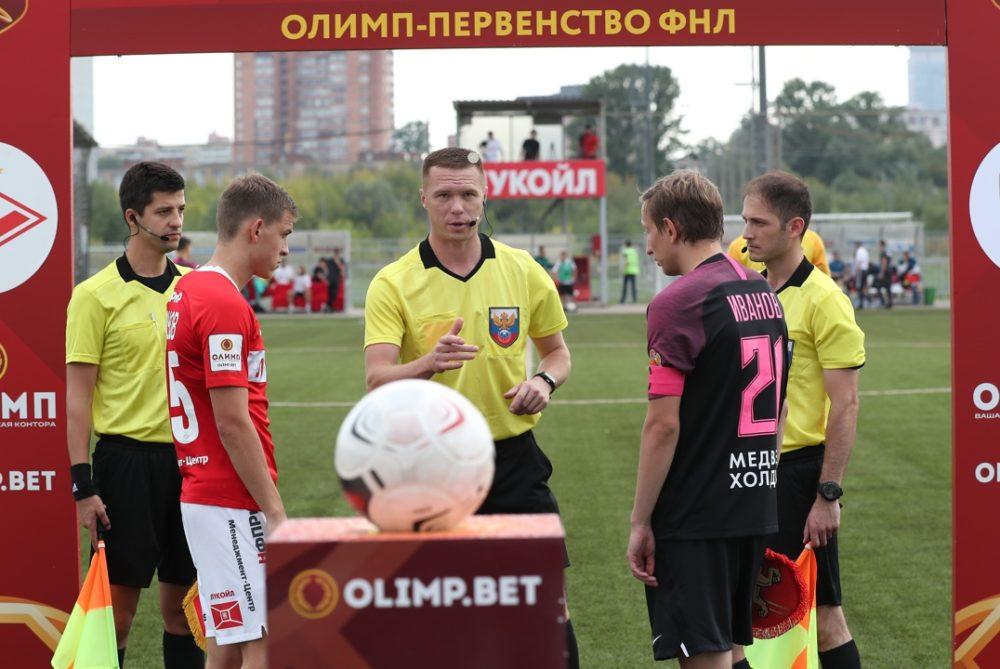 Алексей Амелин рассудит «Нефтехимик» и «Краснодар-2»
