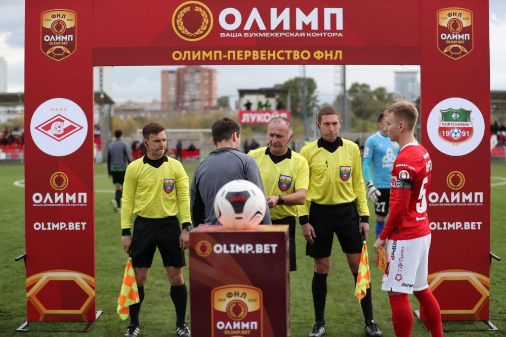 Фоторепортаж c матча «Спартак-2» — «Нефтехимик»