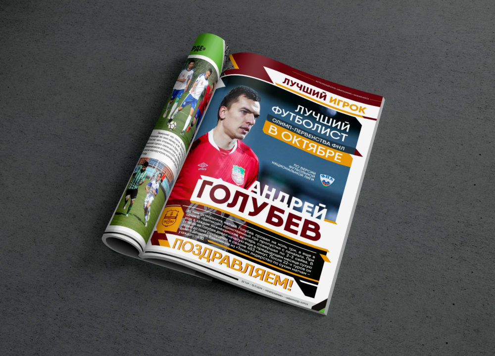 Программка к матчу «Нефтехимик» — «Авангард»