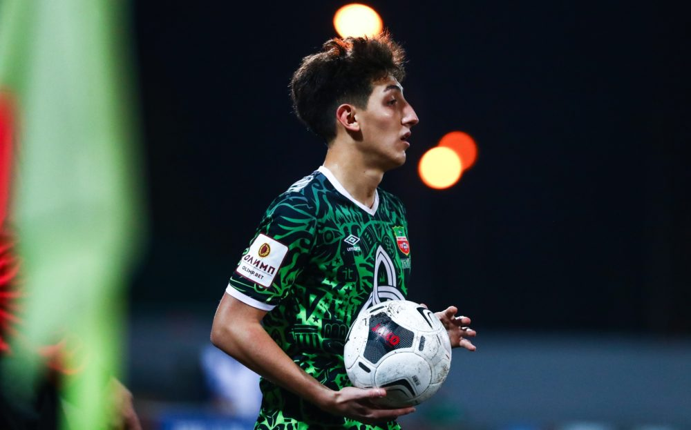 Раиль Абдуллин вызван в сборную U20