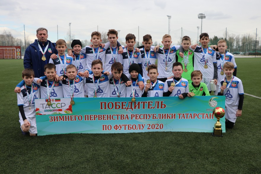 «Нефтехимик-2007» — зимний чемпион татарстана!