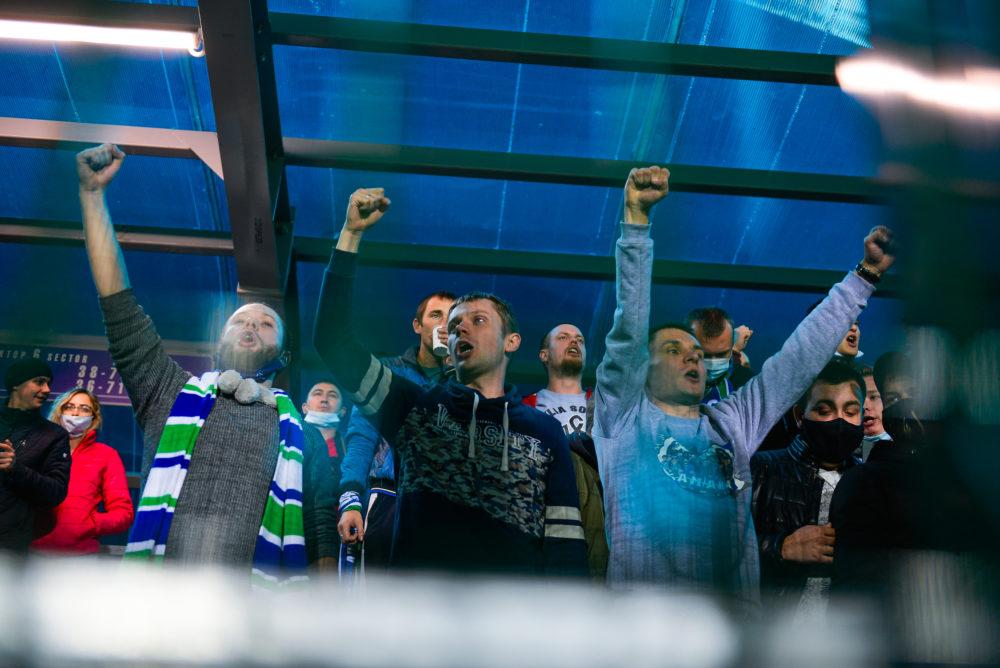 Фоторепортаж с матча «Нефтехимик» — «Крылья Советов»