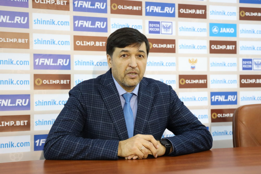 Пресс-конференция после матча «Нефтехимик» — «Краснодар-2»