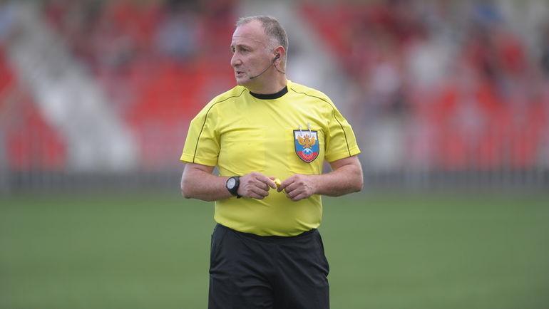 Лаша Верулидзе рассудит «Шинник» и «Нефтехимик»