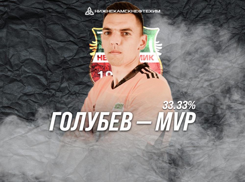 Андрей Голубев — лучший игрок матча «КАМАЗ» — «Нефтехимик»