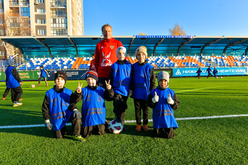 Уроки футбола» в рамках проекта РФС «Футбол в школе»